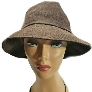 Kangol Accessories - Kangol Tropic Gaffer Trilby Brown Hat-Large
