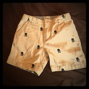 Other - Skull and crossbones Baby Shorts