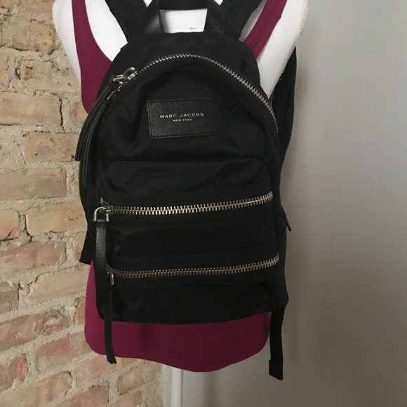 a7aab1d4e Marc Jacobs Bags | Nylon Biker Mini Backpack Black | Poshmark