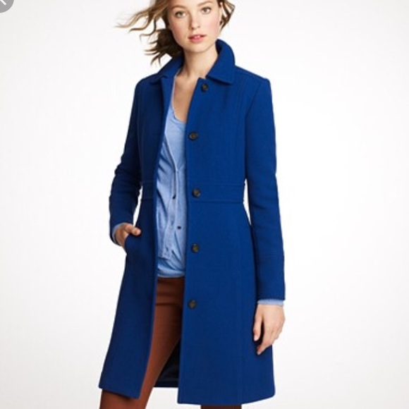 J Crew Jackets Coats J Crew Doublecloth Lady Day Coat With