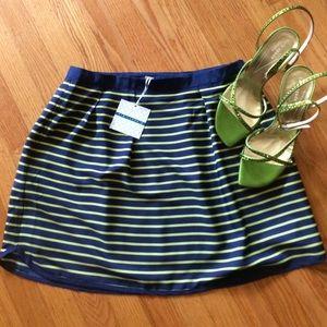  PIM & LARKIN NWT - Beautiful Striped Skirt Sz S