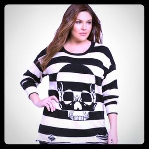 Iron Fist Sweaters - URBAN DECAY STRIPE SWEATER BY IRON FIST