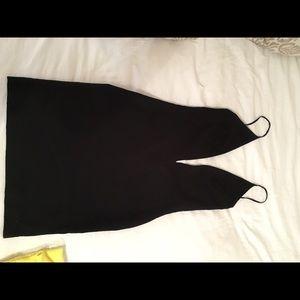 SOLACE LONDON Black mini dress