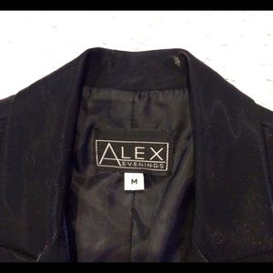 Alex Evenings Jackets & Blazers - Gorgeous Black Iridescent Blazer!