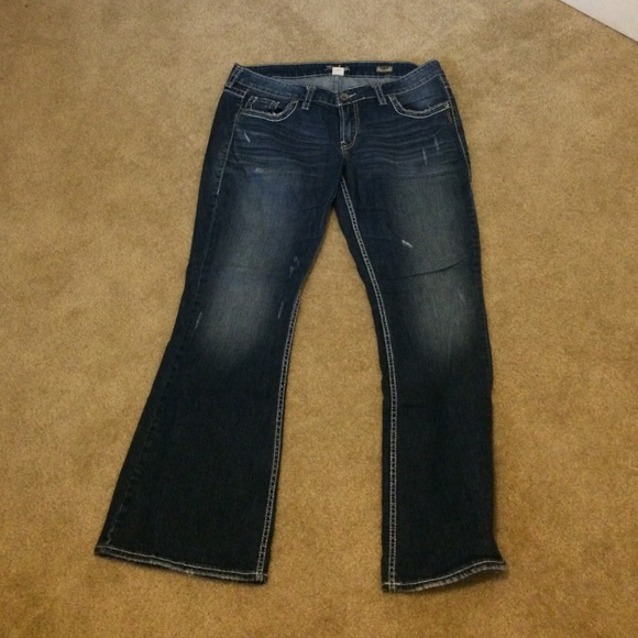 69% off Silver Jeans Denim - Silver Eden Flare Jeans from
