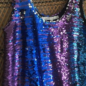 Lovers + Friends Dresses - Lovers and Friends Sequin Dress/Top