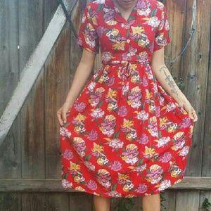 EASTLIVIN  Dresses & Skirts - RAD VINTAGE Resort Dress