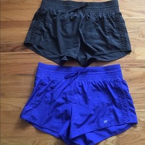 Bundle of Ladies Xersion Running Shorts-Medium