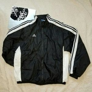 Men's Adidas XL nylon track jacket