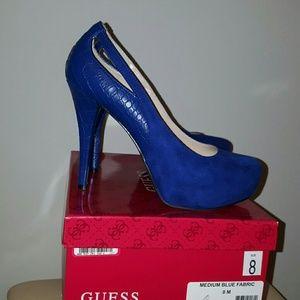 Guess Shoes - Brand new Guess platform heels size 8.
