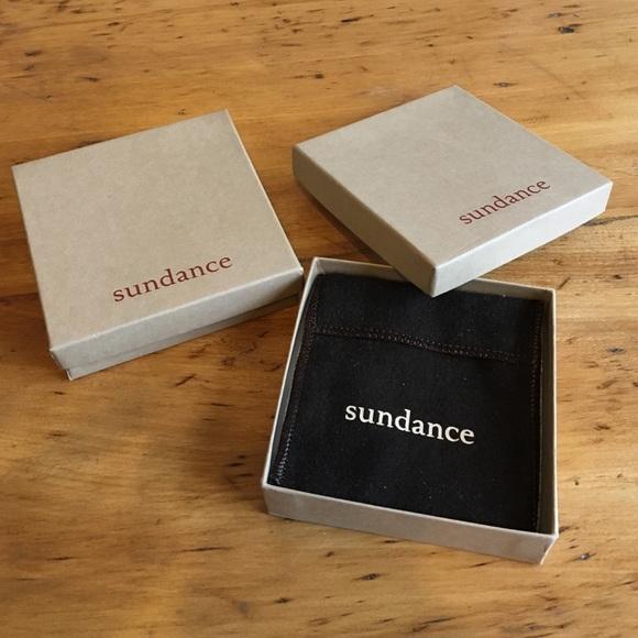 94a21442a Sundance Jewelry   Box With Pouch And Padding   Poshmark