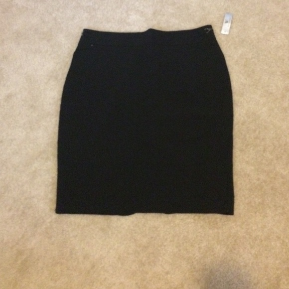 44% off Worthington Dresses & Skirts - Black Pencil Skirt - Size ...