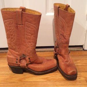 Frye cowboy boots size 6