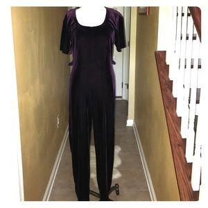 panache  Other - Vintage Velour Purple Jumper 😘😘