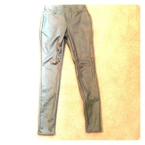 Pants - Pleather skinny pants