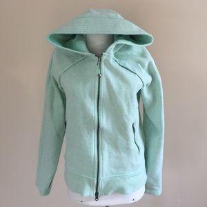 lululemon athletica Tops - Like new Lululemon Scuba hoodie mint green sz 10