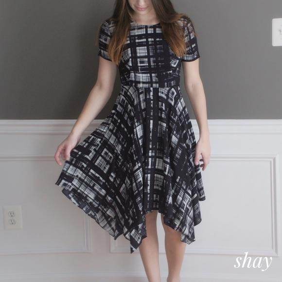 2dc0d981b7b0 Anthropologie Dresses & Skirts - Painted Plaid Dress by Corey Lynn Calter