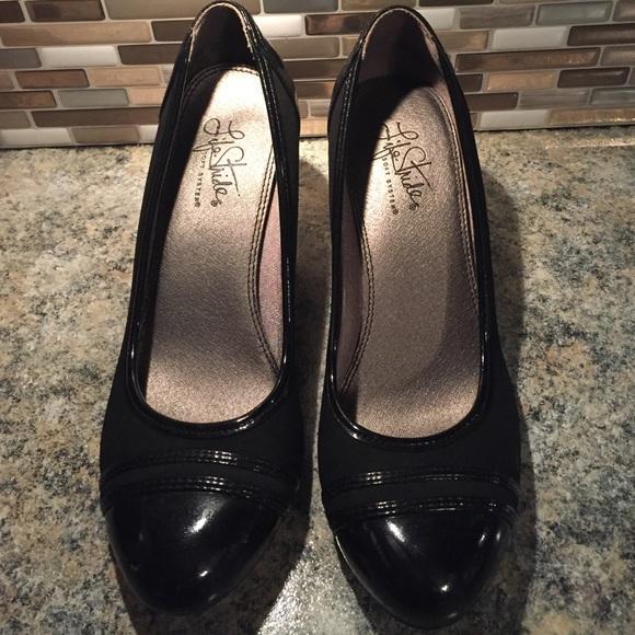 7c4a7102137 Life Stride Shoes - life stride soft system black heels