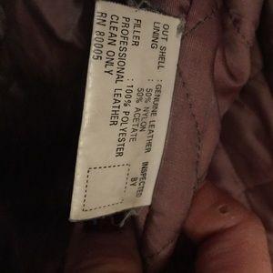 Sara Other - Men's Leather BNWOT jacket