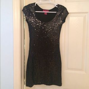 Say What? Dresses & Skirts - NWOT 100% sequins dress