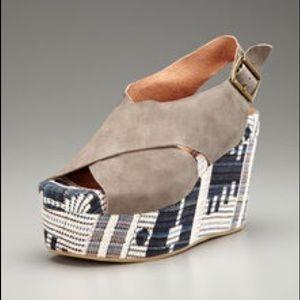 Jeffrey Campbell Pisa Fab platform sandals