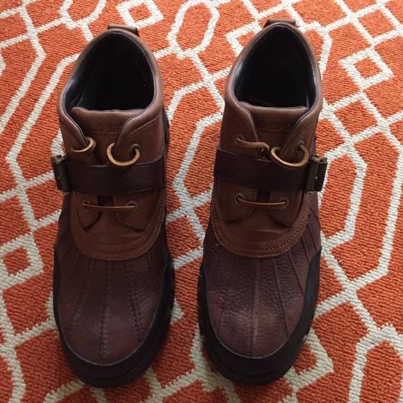 45% off Polo by Ralph Lauren Other - Ralph Lauren Polo Sport Boots ...