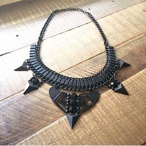 Jewelry - Brand new black unique bohemian style necklace