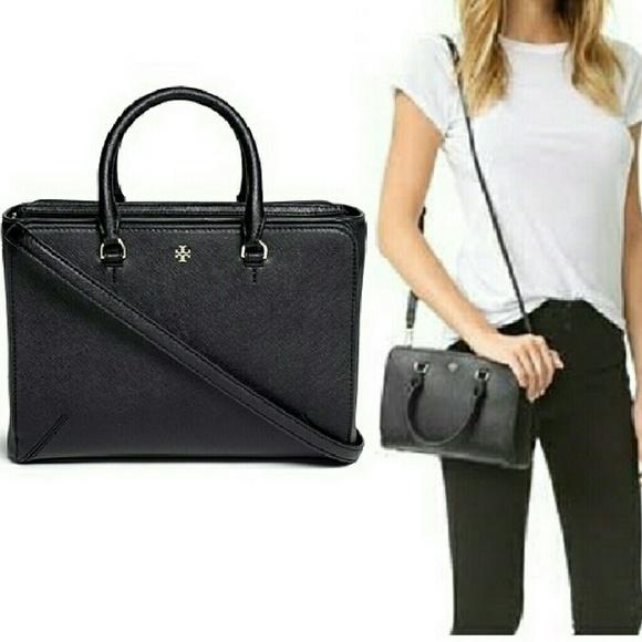 8f013f2e1f50 NEW Tory Burch Robinson Micro Zip Tote Bag