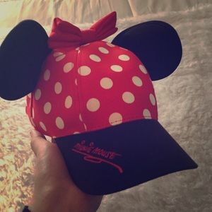 Accessories - Cute Disneyland Minnie Mouse hat