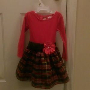 Red and plaid party dress by Youngland