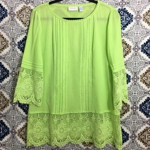 Chico's Lace Blouse