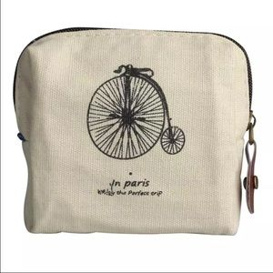 Handbags - Canvas Pairs Bicycle Coin Purse