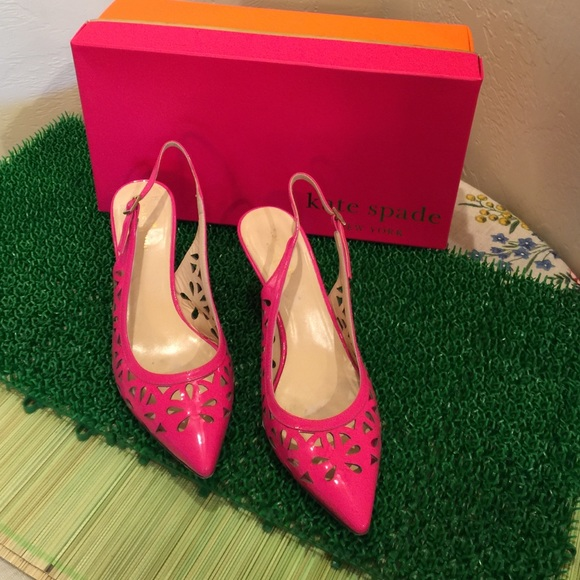 38cecf5fea4 Hot Pink Kate Spade Pumps