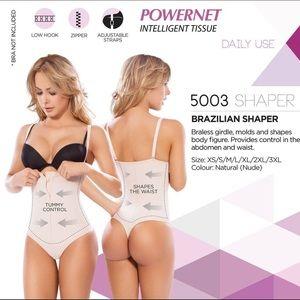 a6a052f390 Intimates   Sleepwear - Nude Brazilian Faja shaper Tummy control