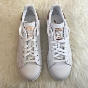 1efbfc61564 Adidas Shoes - ADIDAS Stan smith women s rose gold sz 8.5 new