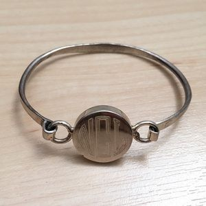 Jewelry - Monogram Sterling Silver Bracelet