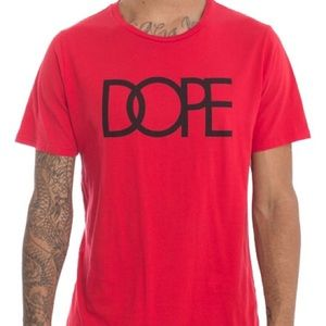 DOPE Red Tee