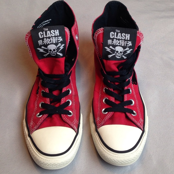 CONVERSE Other - Beautiful CONVERSE THE CLASH REVOLUTION ROCK Excel 99c559606