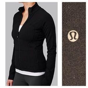 lululemon athletica Jackets & Blazers - Lululemon Heathered Black Shape Jacket