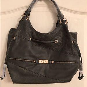 NWT ✨ Grey Shoulder Hobo Bag.