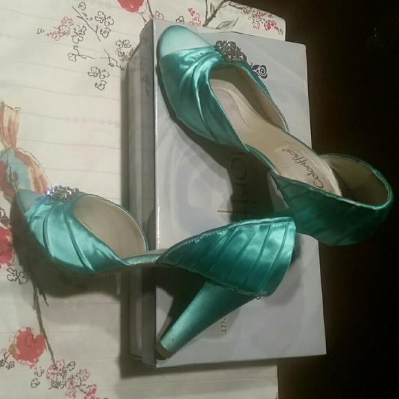 coloriffics Shoes   Wedding Cruise Dance Green Mint Color   Poshmark