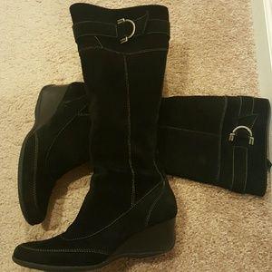 Joan & David Shoes - Joan & David Suede Boots