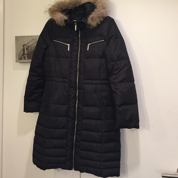 michael michael kors michael by michael kors long down winter jacket from jessica 39 s closet on. Black Bedroom Furniture Sets. Home Design Ideas