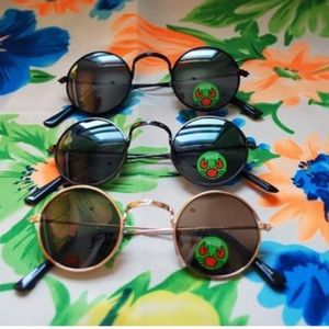 Other - 2/$8 KIDS HIPPIE CIRCLE SUNGLASSES TODDLER ROUND