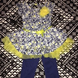 Little Lass Other - Little Lass baby girl/toddler outfit 18 mos