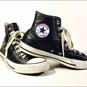Converse Shoes - Converse All-Star Leather High Top Sneaker