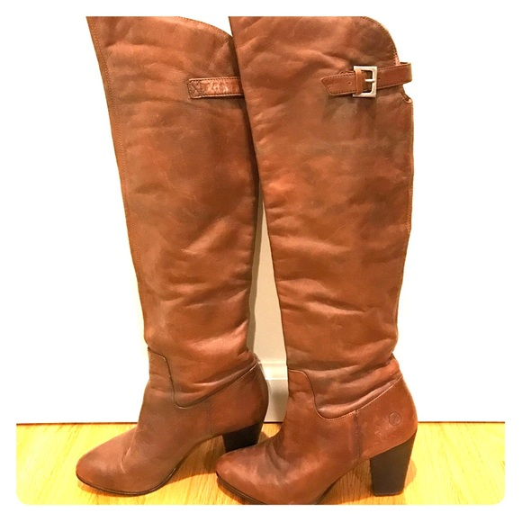 95efd9138eb Bronx brown over the knee boots