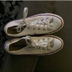 Woman's 6 converse ( I'm naturally 7-7.5)fit great