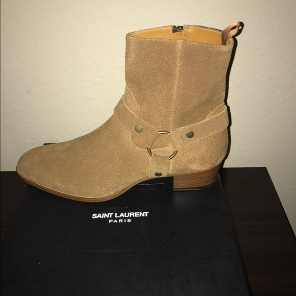 6c073b7f175 Saint Laurent Shoes | Classic Wyatt Boot Size 47 | Poshmark