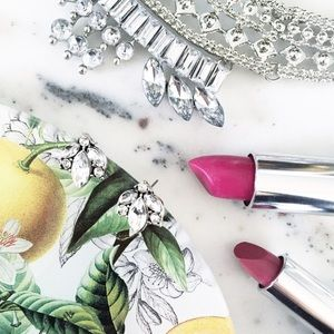 "Erica Rose Jewelry - ""Alice"" Earrings || Clear Crystal Leaf Studs"